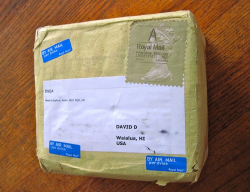 A Surprise In the Mail: International Parcel by davidd is licensed under CC BY 2.0